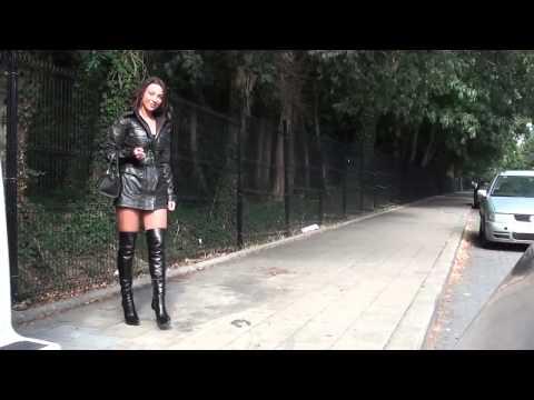 Black Coat & Boots