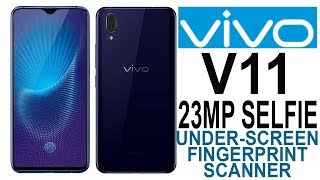 VIVO V11 Pro First Look, Specifications, Price And Features