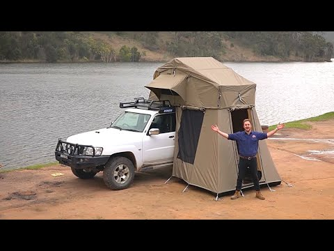 How to set up a Kings Roof Top Tent