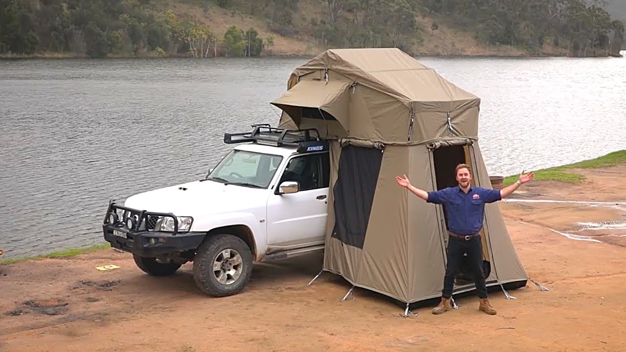 & How to set up a Kings Roof Top Tent - YouTube