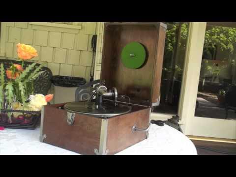 Phon-Ola Phonograph Circa 1930's