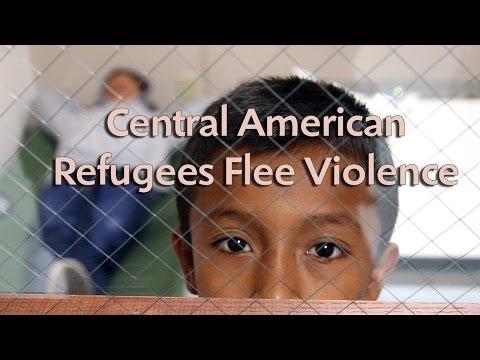 Central American refugees flee violence