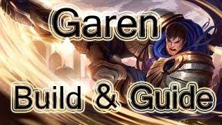 League Of Legends - Garen Build / Guide - New Hair Cut (Top)