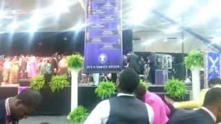 "COGIC AIM 2013 Praise Break. ""To God Be the Glory!"""