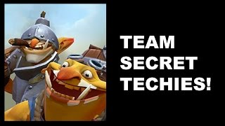 SECRET TECHIES - It
