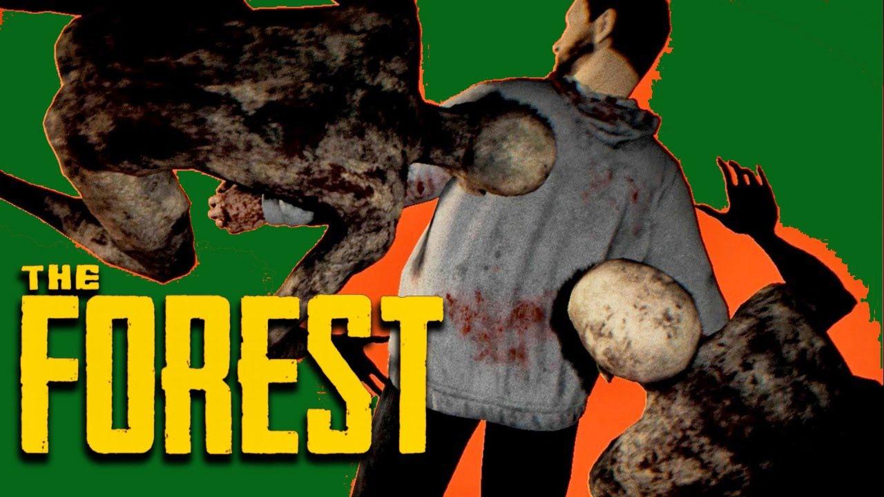阿津 恐怖遊戲 陰森 The Forest - 一路玩到結局 - YouTube