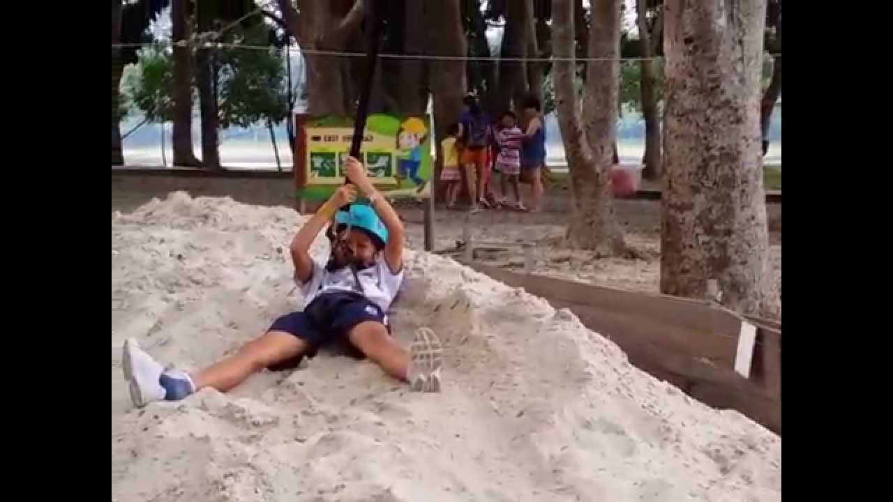 forest adventure kids u0027 course flying fox youtube