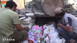 غرفة الأخبارسياسة  أهالي حلب يصنعون المازوت من البلاستيك