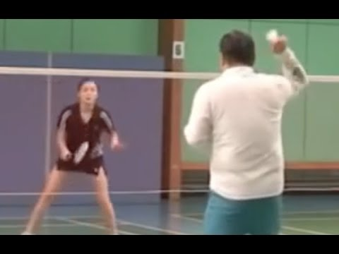 Badminton-Mixed Doubles: (6)  The Most Important Practice for Female Player