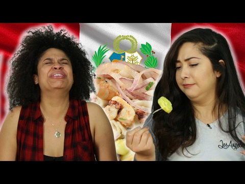 Latinos Try Peruvian Food For The First Time
