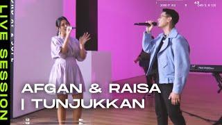 Afgan & Raisa - Tunjukkan   Live at Museum Macan