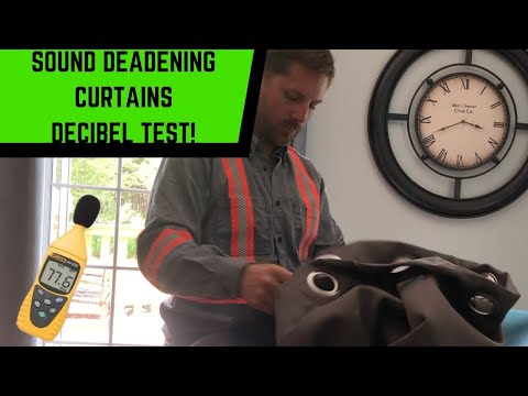 Sound Deadening Curtain Sound Test! Do They Actually Work?