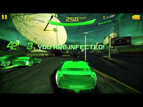 Asphalt 8 Airborne 2021 Mercedes Benz SLS AMG Electric Drive French Guiana Classic Race INFECTED CAR