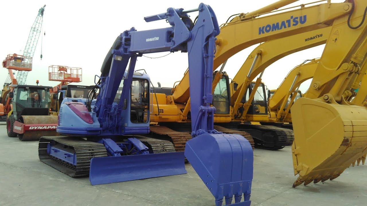Jakarta Auctions Komatsu Pc128uu Hydraulic Excavator Youtube Pc75uu 1 Wiring Diagram