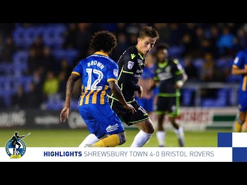 Highlights: Shrewsbury Town 4-0 Bristol Rovers