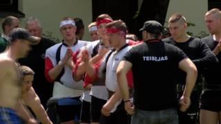 Lietuvos virvės traukimo čempionatas I etapas 2016-06-04