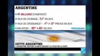 L'Argentine porte plainte contre les États Unis devant la Cour Internationale de Justice
