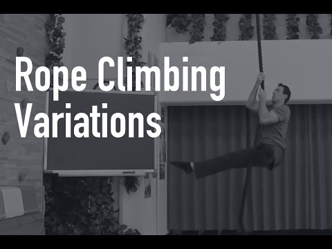 10 Rope Climb Exercise Progressions for Practical Strength Training