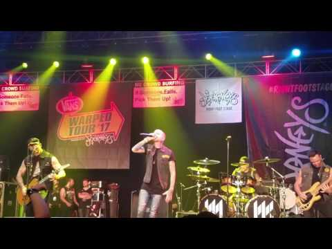 Memphis May Fire - Without Walls & The Sinner (Live) Las Vegas Vans Warped Tour 2017