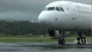 Air New Zealand | Airbus A320-200 | Port Vila Taxi and Take-Off