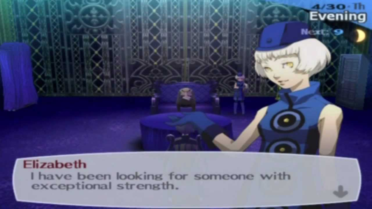 Persona 3 FES - Part 9 :: Elizabeth's Requests