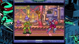 Teenage Mutant Ninja Turtles - Tournament Fighters - -Story Mode- Vizzed.com GamePlay - User video