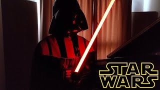 Star Wars The Imperial March (Darth Vader's Theme) [ピアノ]