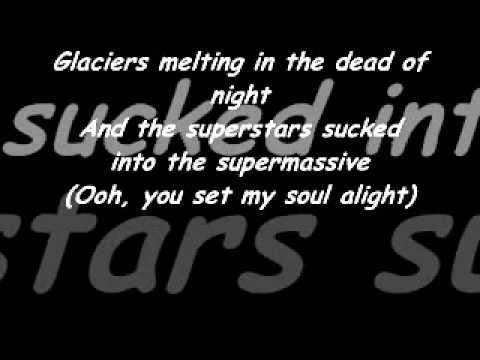 muse supermassive black hole lyrics
