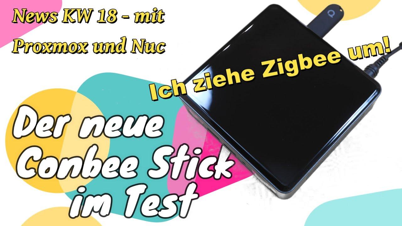 Conbee II Stick - Zigbee von Dresden Elektronik - ich ziehe um