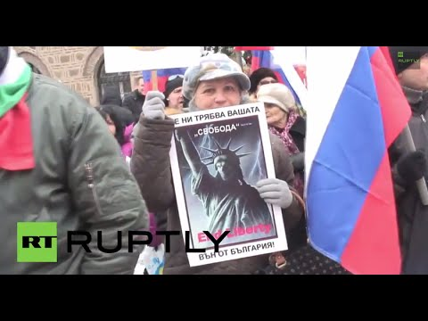 Bulgaria: 'NATO OUT!' Sofia demo slams NATO base plans