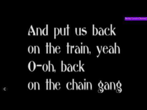 Back on the Chain Gang, The Pretenders (w/lyrics)