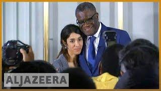 🏆Nobel Peace Prize winners seek justice for war rape victims   Al Jazeera English