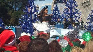 Ariana Grande, Jason Derulo and more perform during taping for the 2015 Disney Christmas Celebration