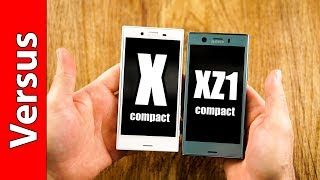 Sony Xperia XZ1 Compact vs. X Compact | the best vs. the 2nd best
