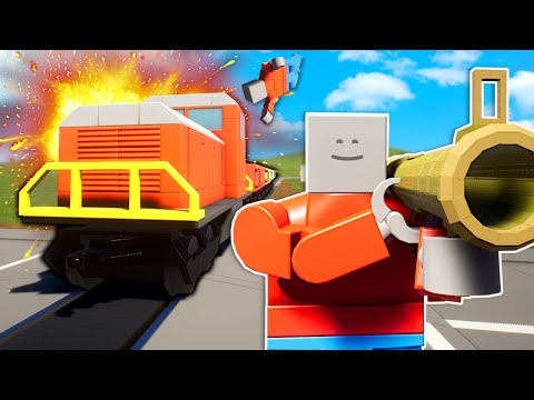 THIS LEGO TRAIN IS UNSTOPPABLE! - Brick Rigs Update Gameplay  
