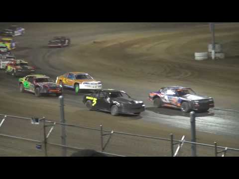IMCA Sock Car feature Independence Motor Speedway 4/22/17