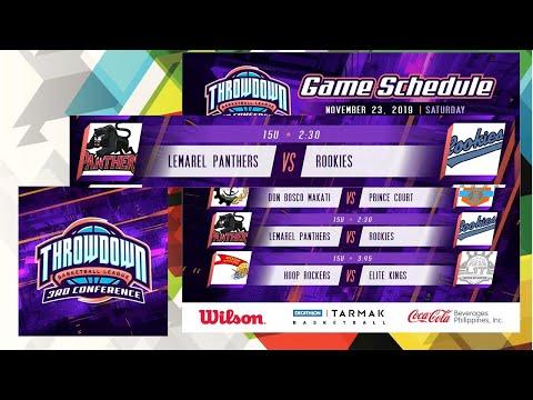 throwdown-basketball-league-|-lemarel-panthers-vs-rookies-15u|-game-hightlights-|-liga-serye-2019