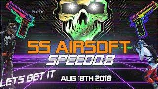 SpeedQB Speedsoft 5v5 Tournament at SS Airsoft Aug 18th 2018