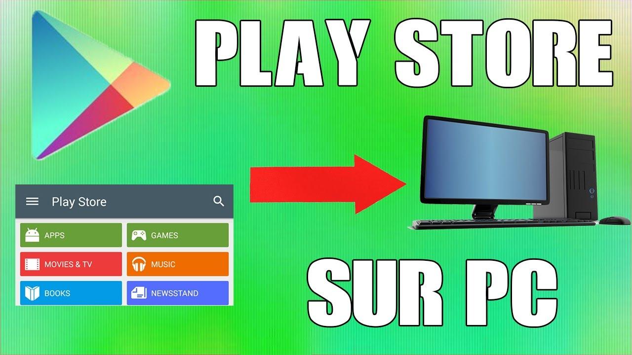 comment telecharger play store sur windows 7