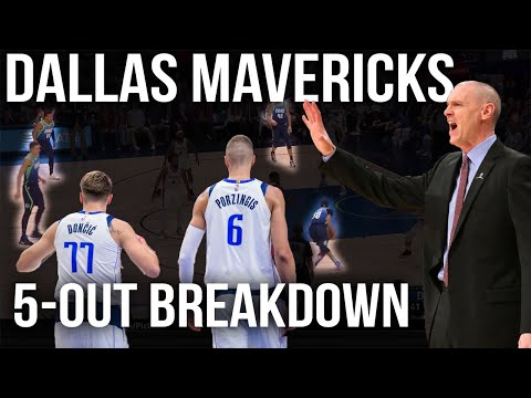 Dallas Mavericks 5 Out Offense | Film Room