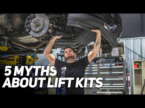 5 MYTHS About Lift Kits. Is it worth it?