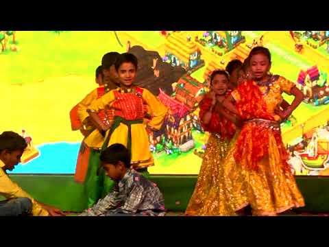 Kich Kich Kiya folk dance Dance by Grade 3 Students