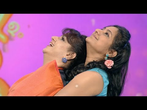 Onnum Onnum Moonu Season2 I Ep 57 - Menaka & Rohini on the floor I Mazhavil Manorama