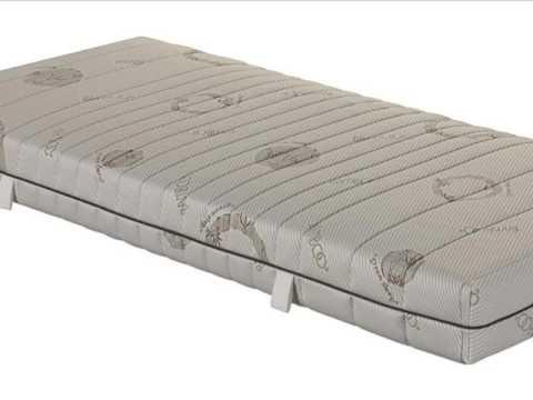 7 zonen taschenfederkernmatratze  7 Zonen Taschenfederkernmatratze mit waschbaren Bambus Bezug ...