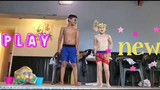 Kids TV are swimming in England! Do you like swimming? Comment down be