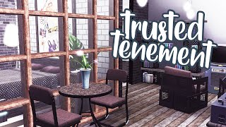 trusted tenement renovation | the sims 3 speed build
