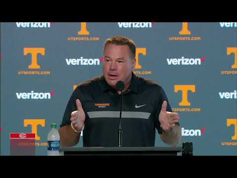 Butch Jones critical of Tennessee media | ESPN