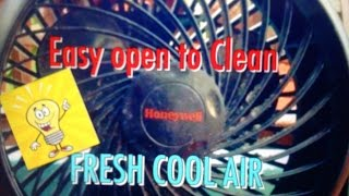 Tutorial: How to OPEN a HONEYWELL FAN to CLEAN or FIX