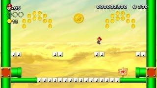 New Super Mario Bros. U - Layer-Cake Desert-6 - Second Star Coin (Wii U)