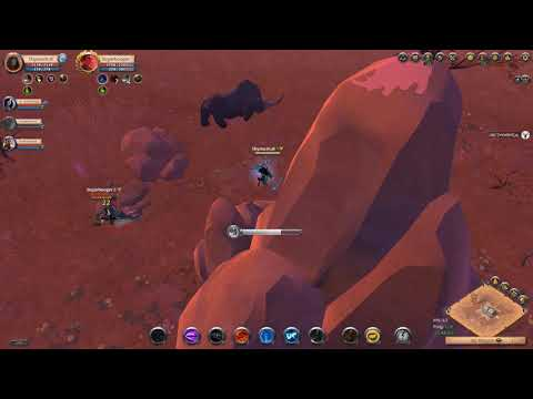 Albion online ironborn- joint operations dungeon dive 2